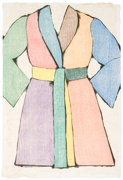 The Woodcut Bathrobe