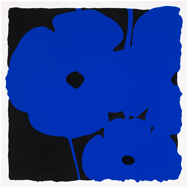 Poppies, June 6, 2011 (Blue)