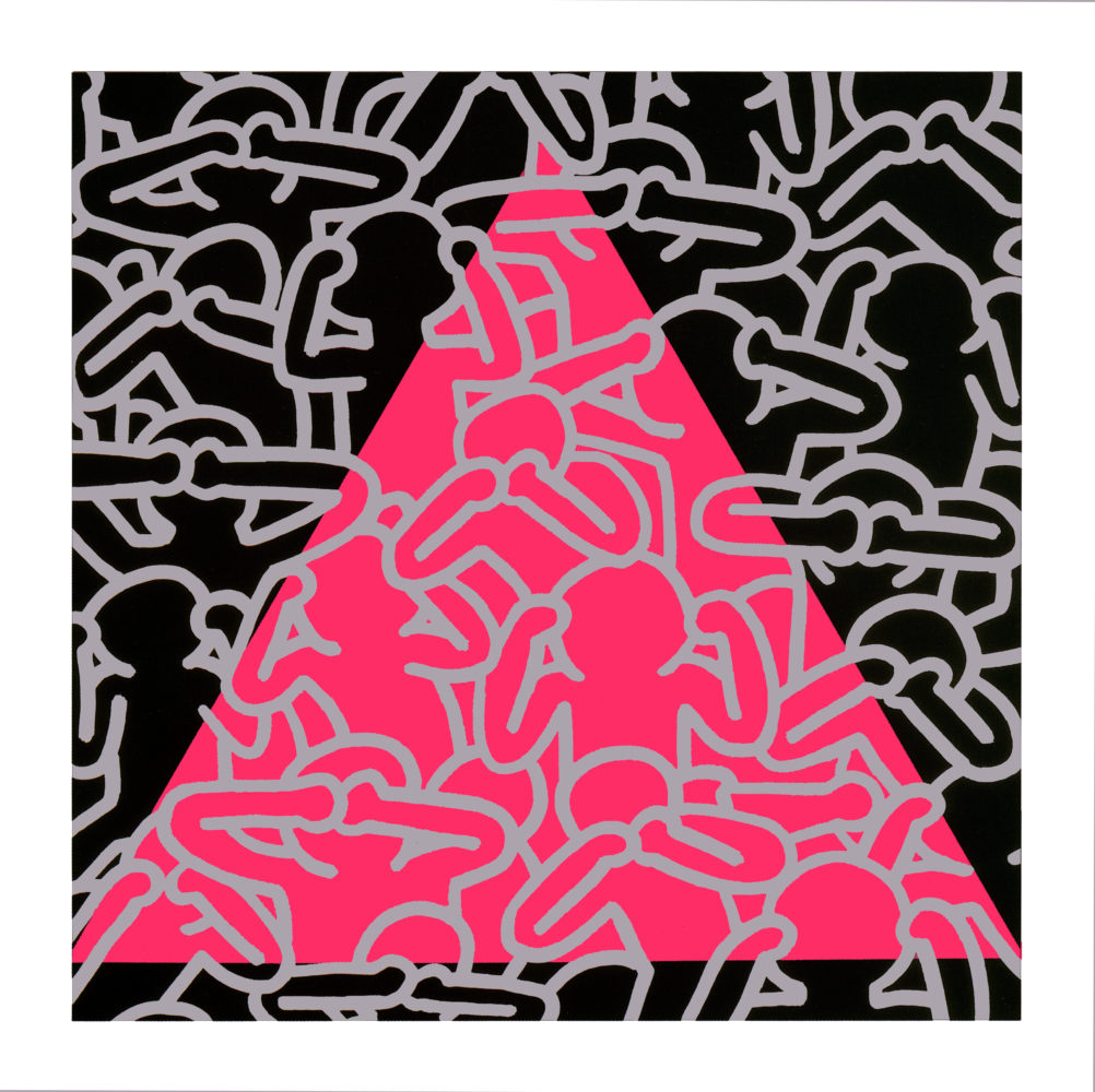 Silence=Death by Keith Haring