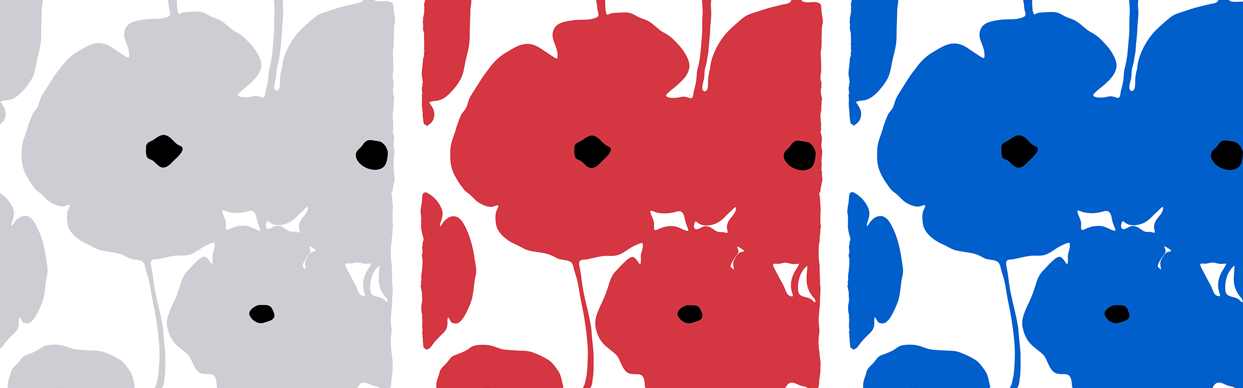 David Sultan Four Poppies 2018, Banner
