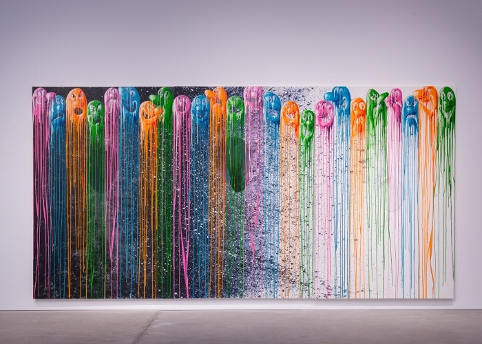 Kenny Scharf Painting