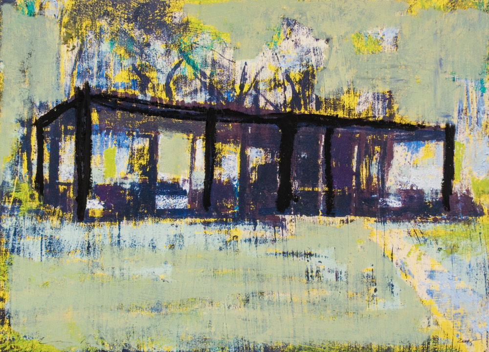 Enoc Perez Glass House II (Yellow) HC 1/2