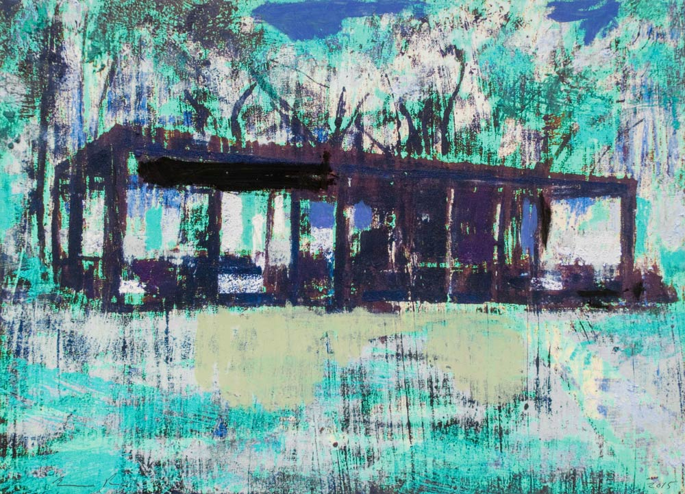 Enoc Perez Glass House I (Blue) 3/12