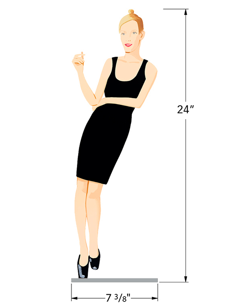 Black Dress 3 - Oona - Dimensions