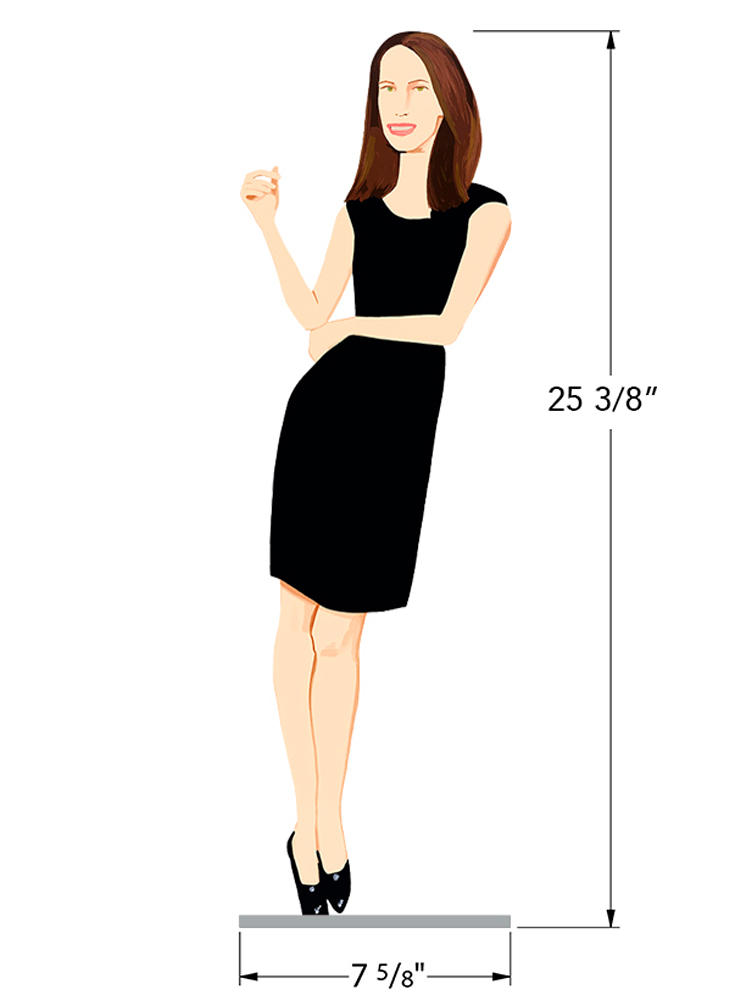 Black Dress 9 - Christy - Dimensions