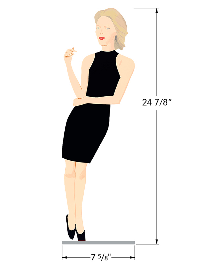 Black Dress 8 - Ruth - Dimensions