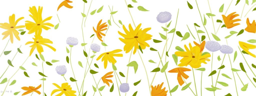Katz Summer Flowers Silkscreen