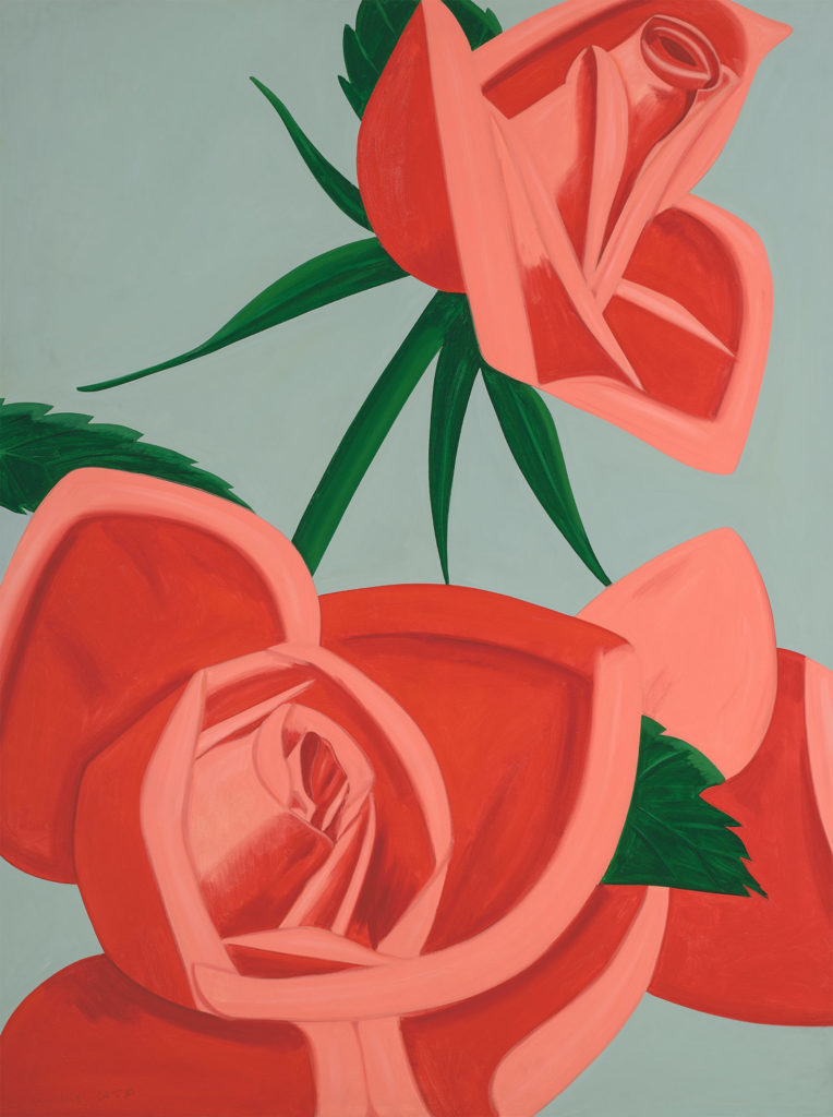 Alex Katz Rose Bud fine art print
