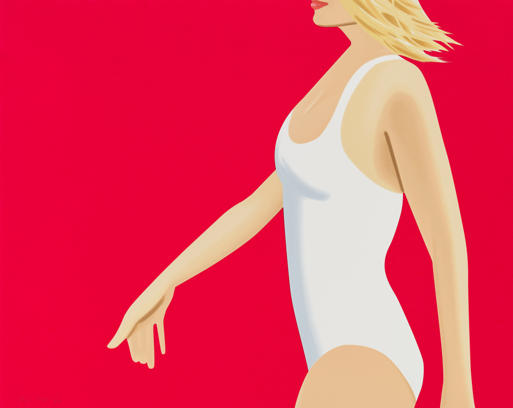 Alex Katz Coca-Cola Girl 1 Silkscreen