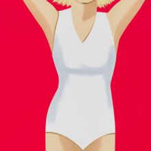 Alex Katz Coca-Cola Girl 2 Silkscreen