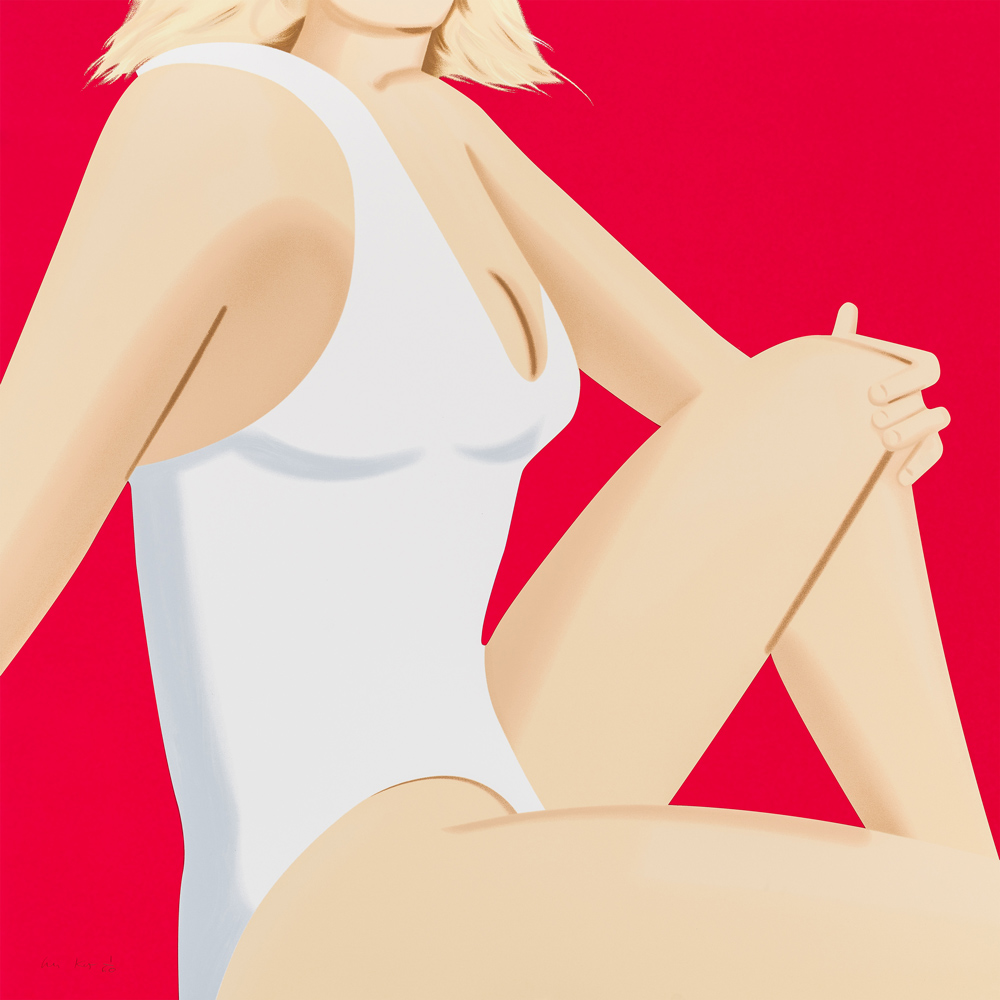 Alex Katz Coca-Cola Girl 7 Silkscreen
