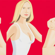 Alex Katz Coca-Cola Girl 9 Silkscreen