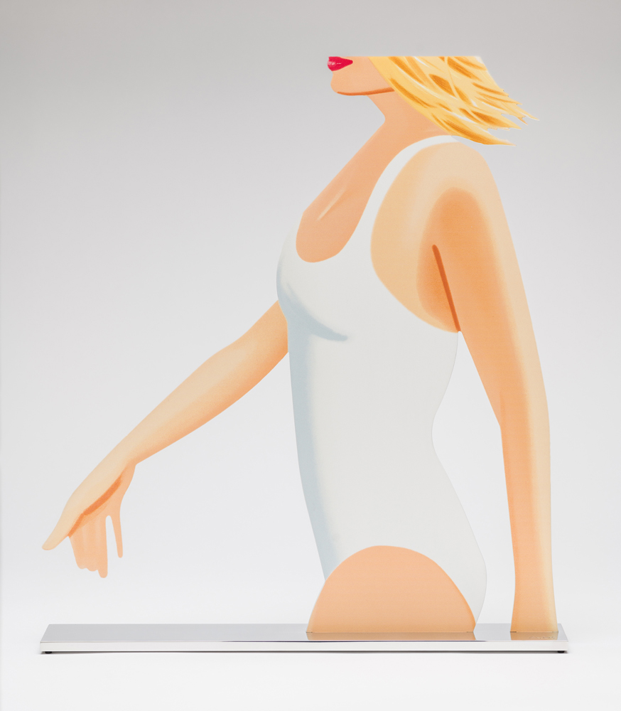 Coca-Cola Girl (Cutout) by Alex Katz