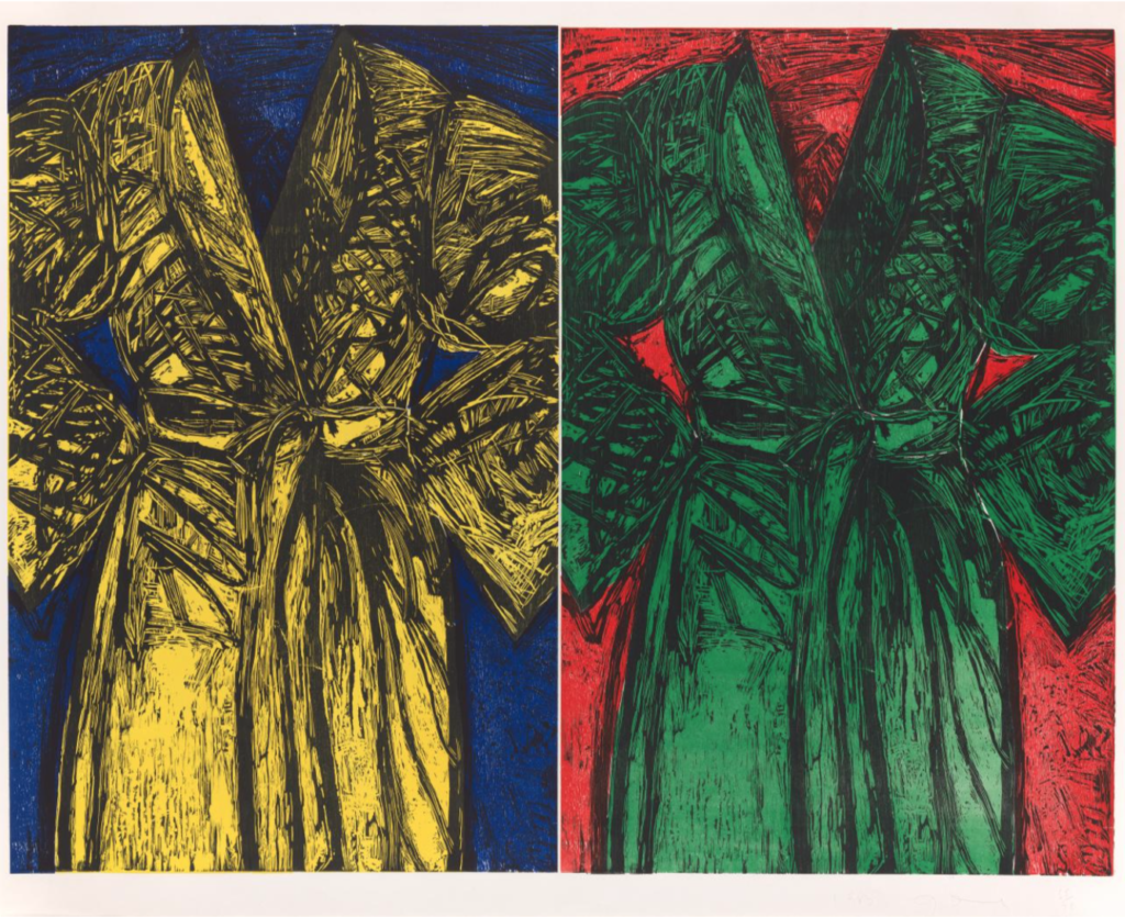 "Jim Dine ""The Kindergarten Robe"""