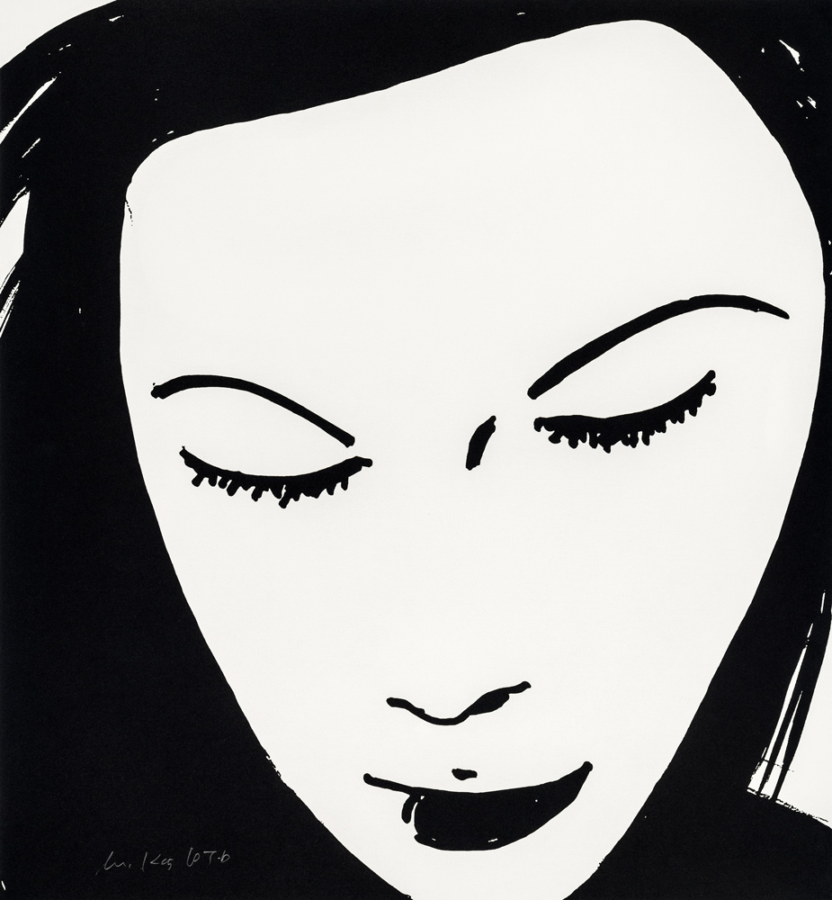Beauty 1 by Alex Katz