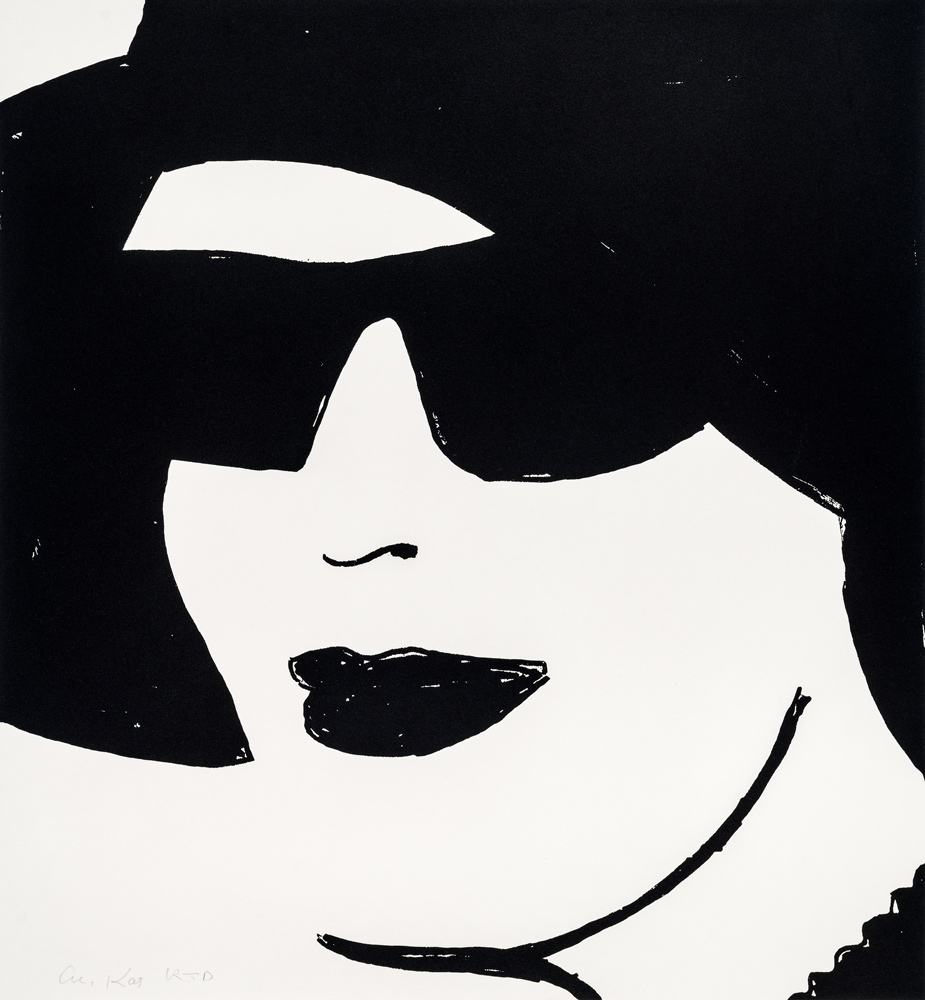 Beauty 2 by Alex Katz
