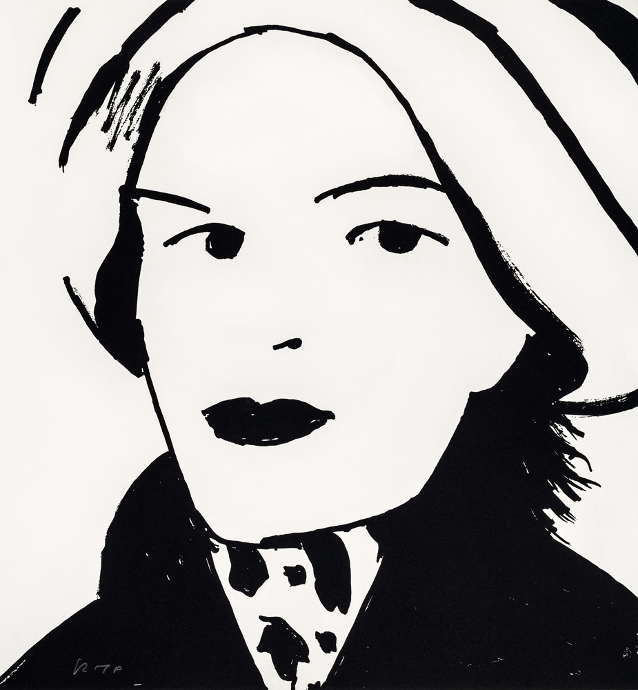 Beauty 3 by Alex Katz
