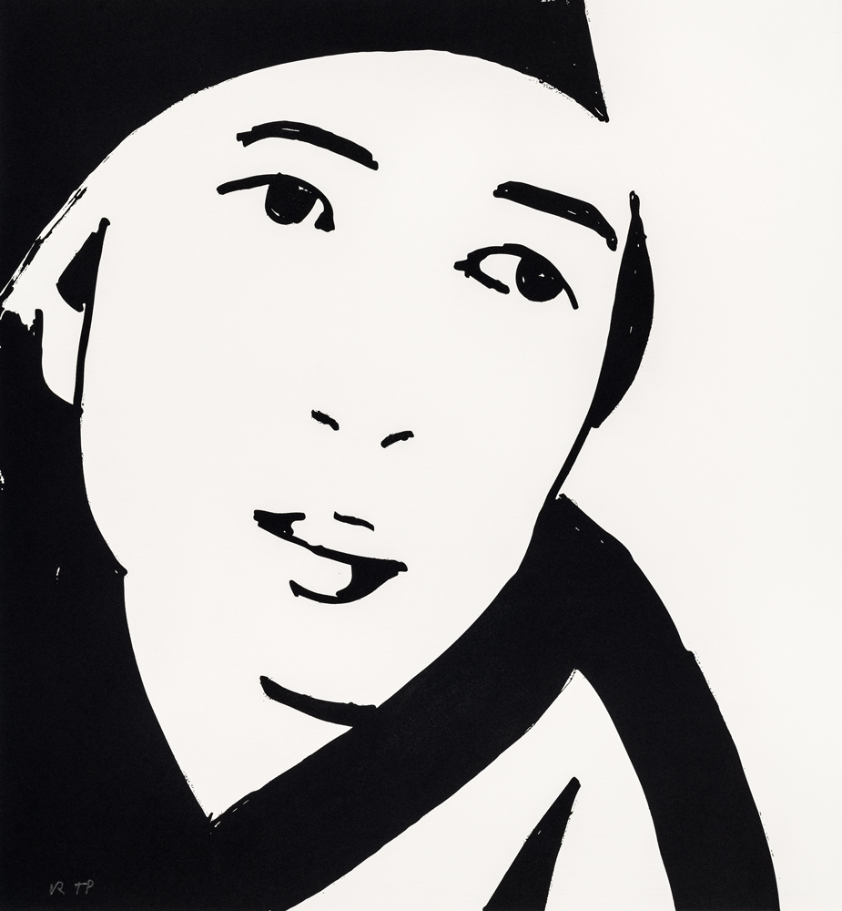 Beauty 4 by Alex Katz
