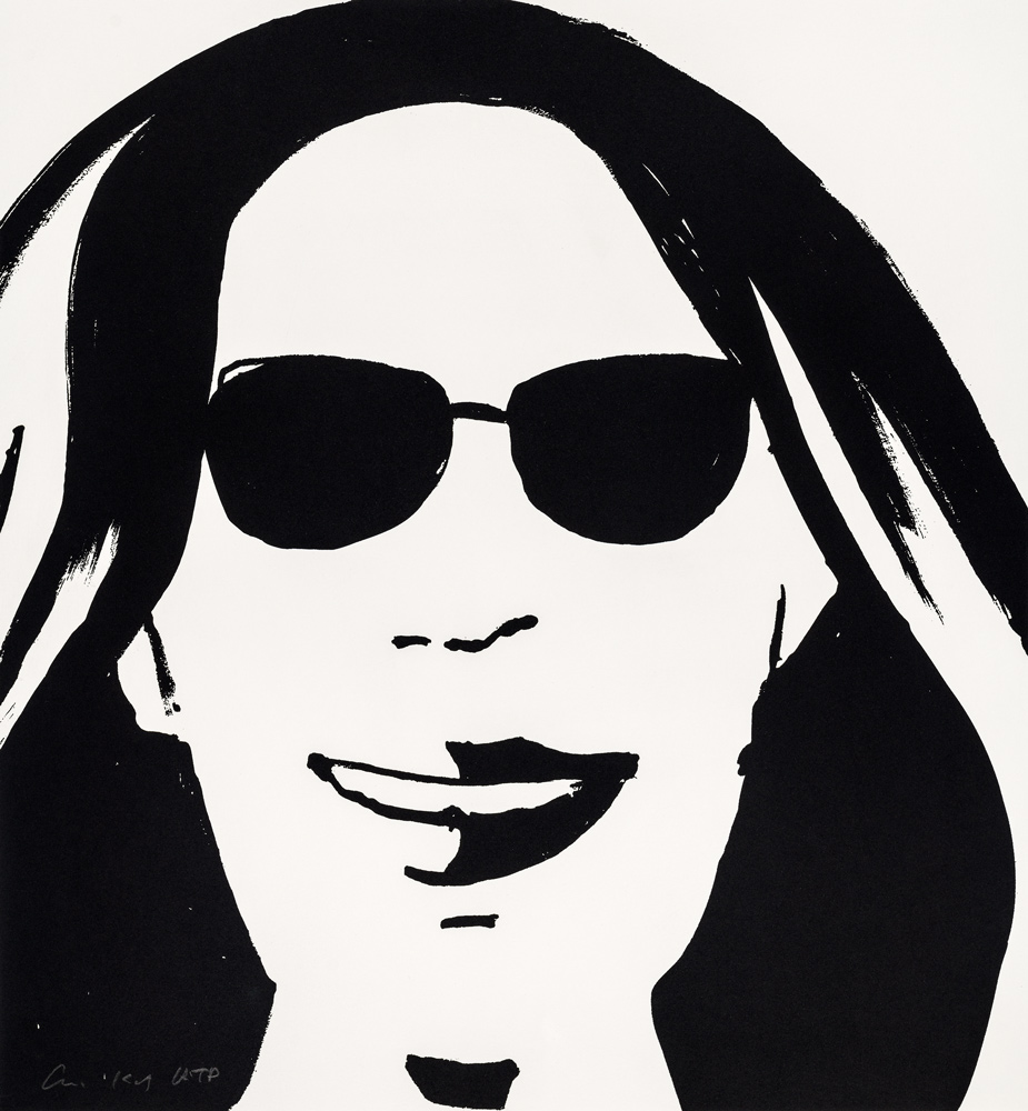 Beauty 5 by Alex Katz