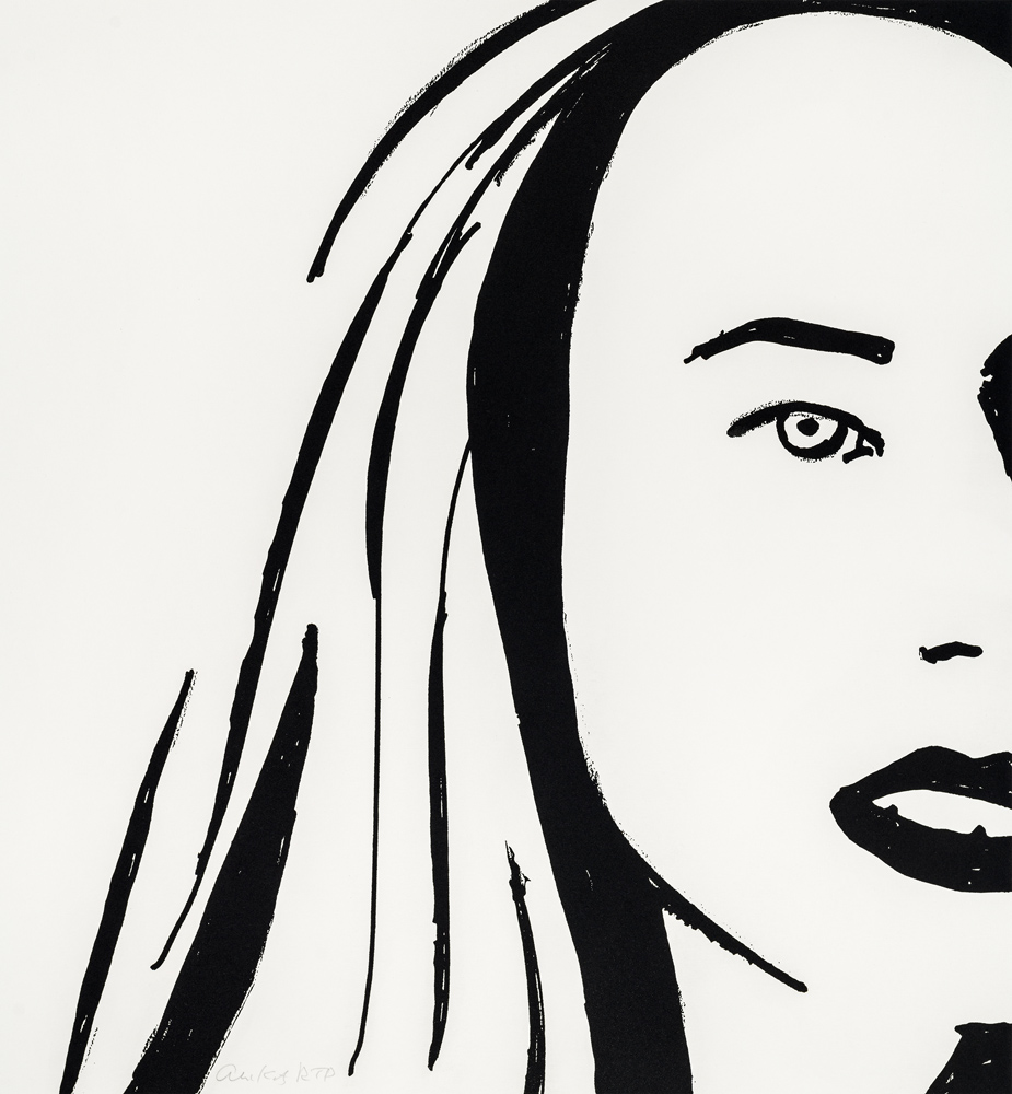 Beauty 6 by Alex Katz