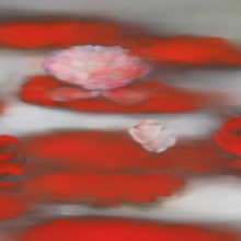 Floating Red by Ross Bleckner