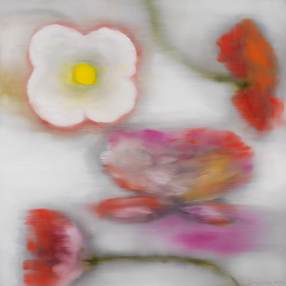 Light Flower (C.T.) by Ross Bleckner