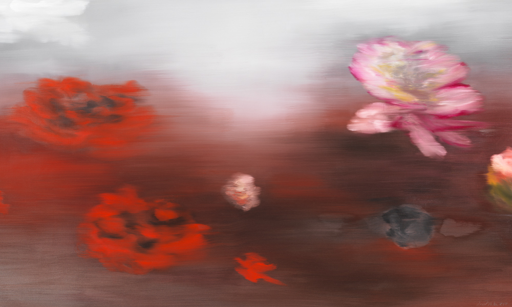 The Water Lilies (C.M.) by Ross Bleckner