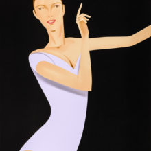 Dancer 1 by Alex Katz