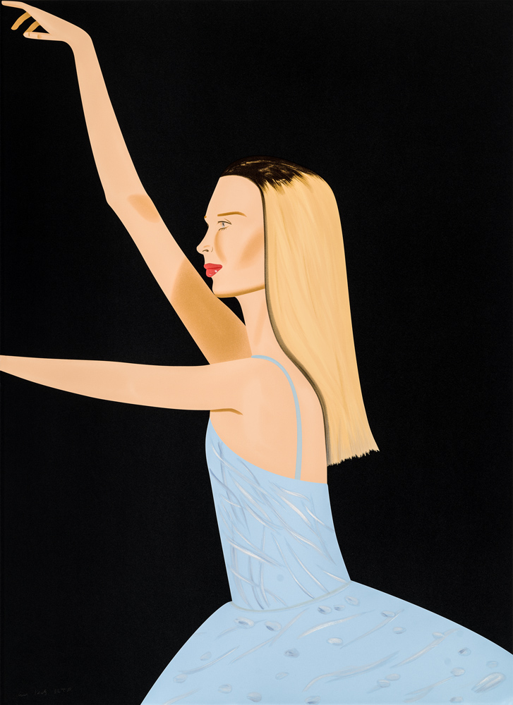 Dancer 2 by Alex Katz