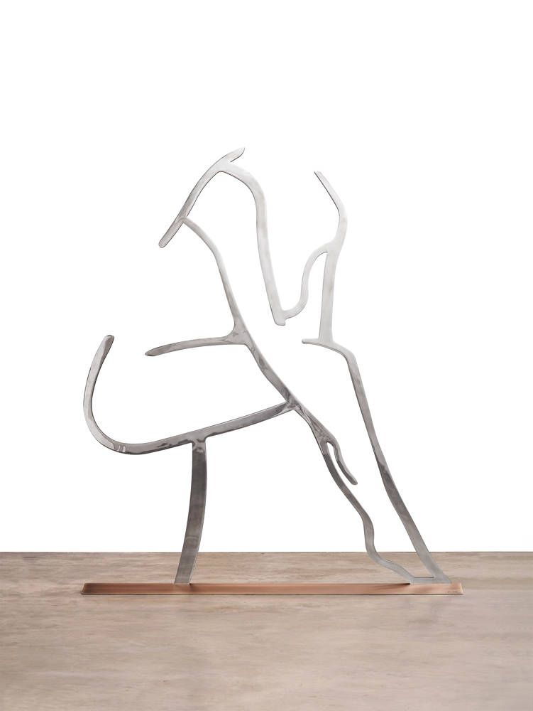 Dancer 1 (Outline) by Alex Katz