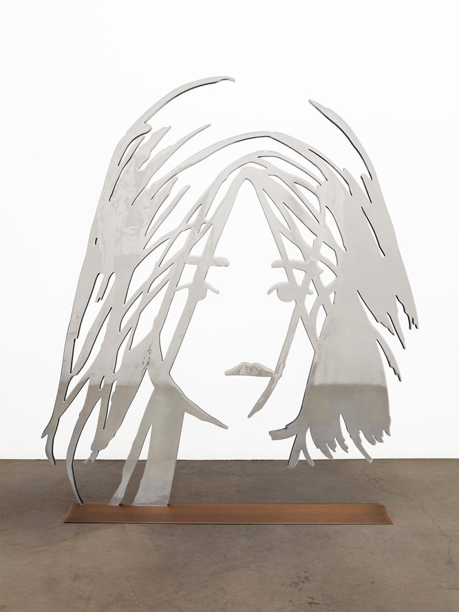 Dancer 2 (Outline) by Alex Katz