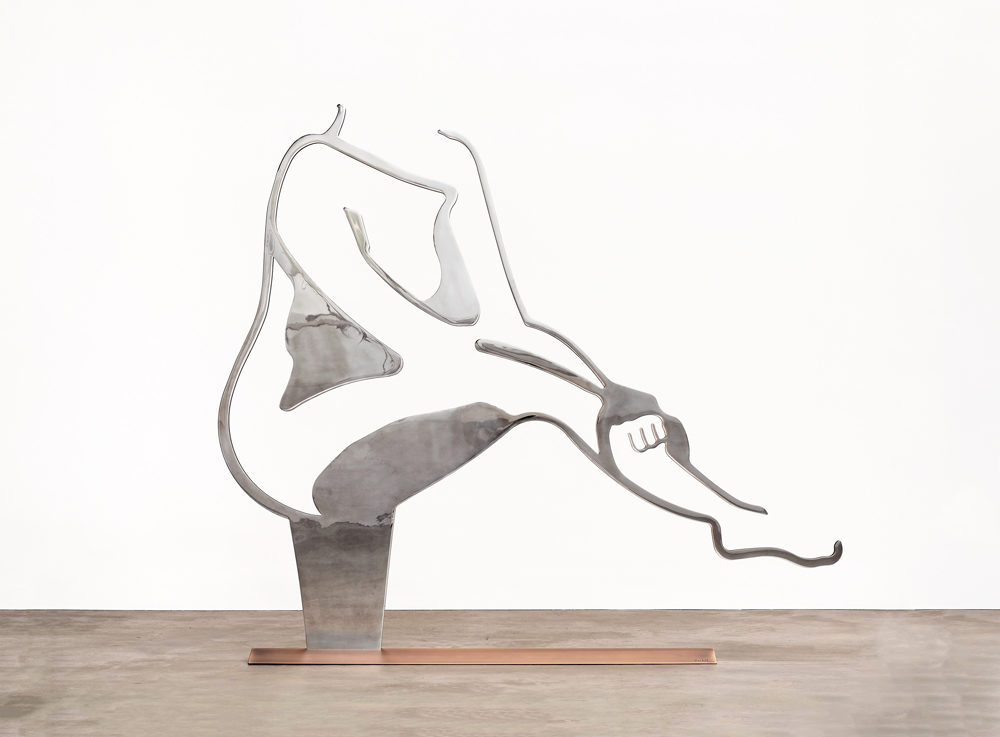 Dancer 4 (Outline) by Alex Katz