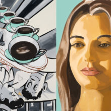 Patient and Nurse by David Salle