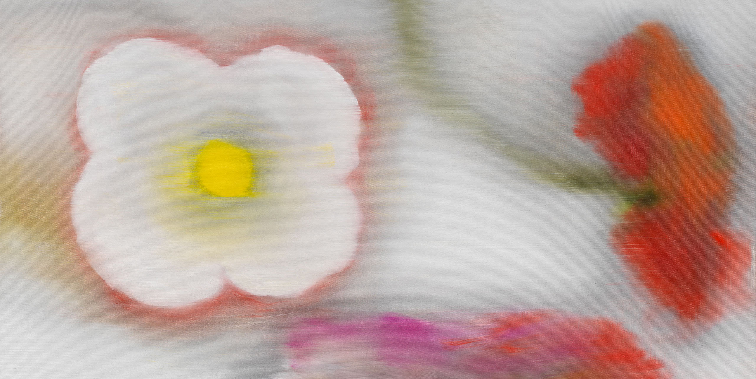 Bleckner Light Flowers Web Banner
