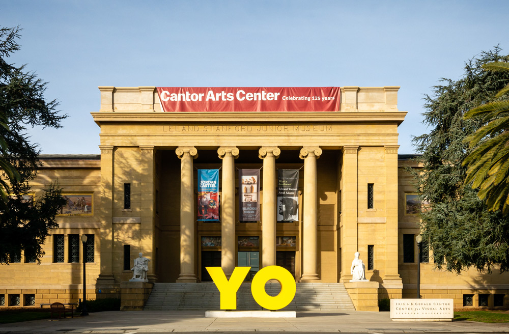 OY / Yo by Deborah Kass at the Cantor Art Museum