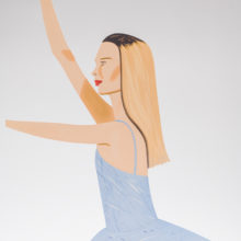 Alex Katz Dancer 2 (Cutout)