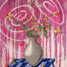 Flores Magenta by Kenny Scharf
