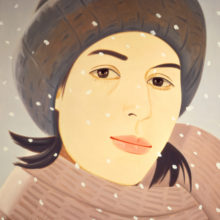 December (Ada) by Alex Katz