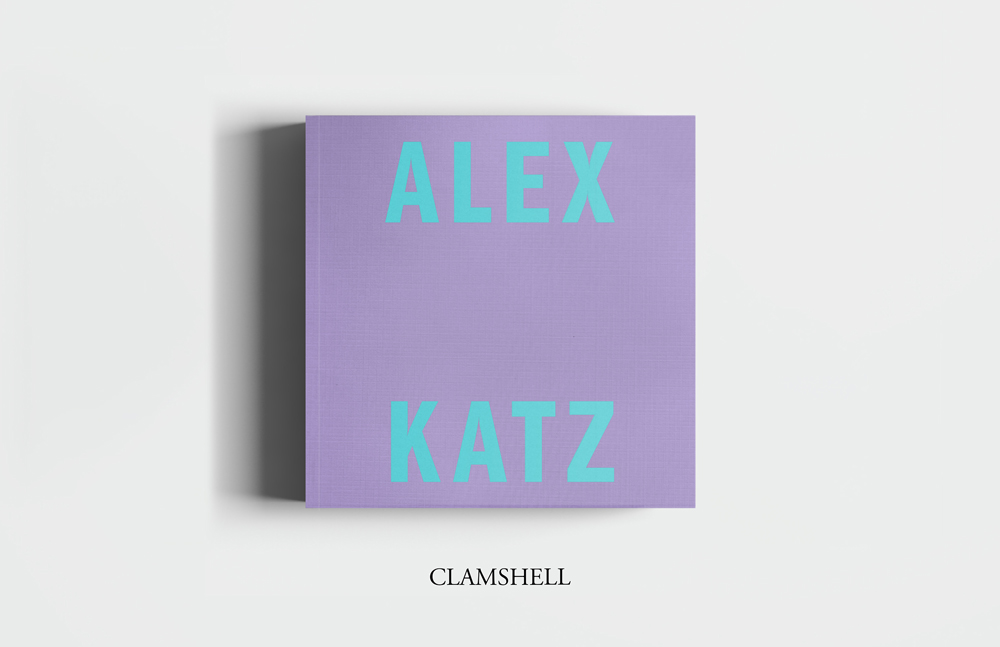 Alex Katz Luxe book from Rizzoli Electra Clamshell