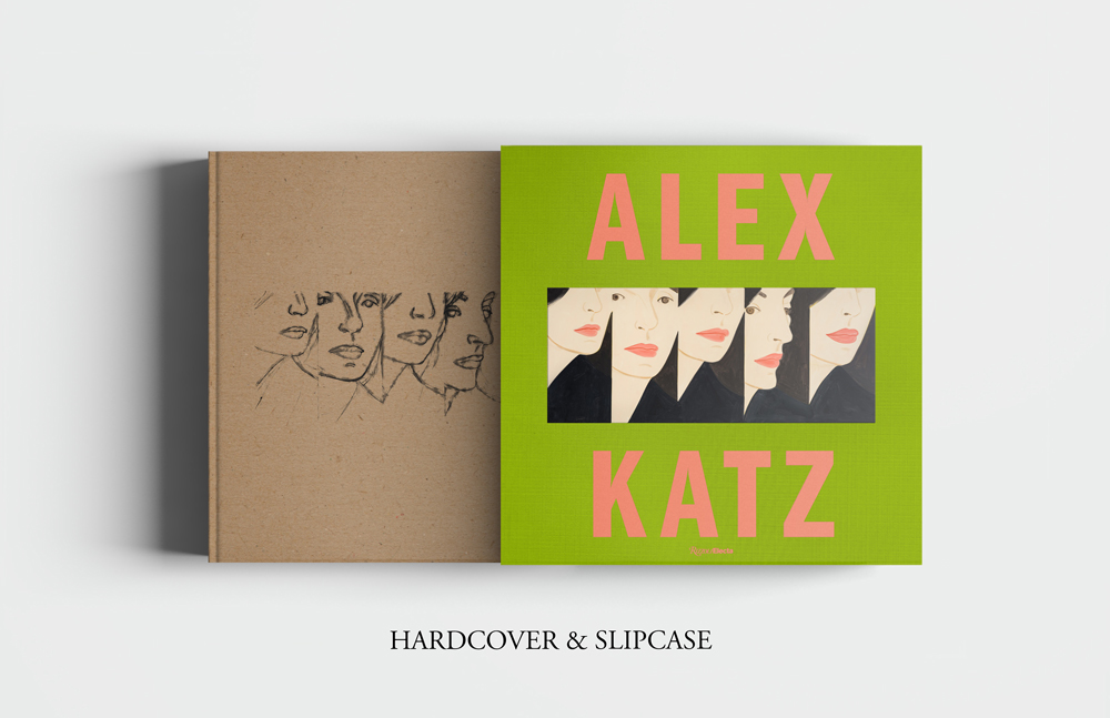 Alex Katz Luxe book from Rizzoli Electra Hardcover & Slipcase