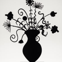 Flores Black by Kenny Scharf