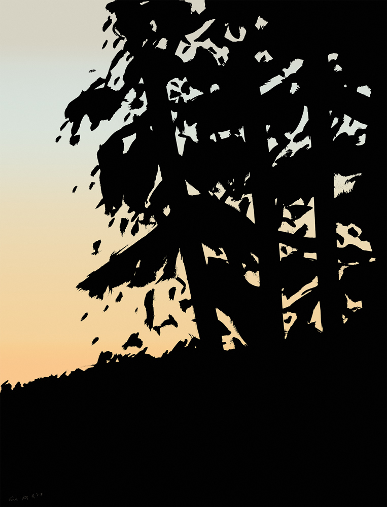 Sunset 1 by Alex Katz