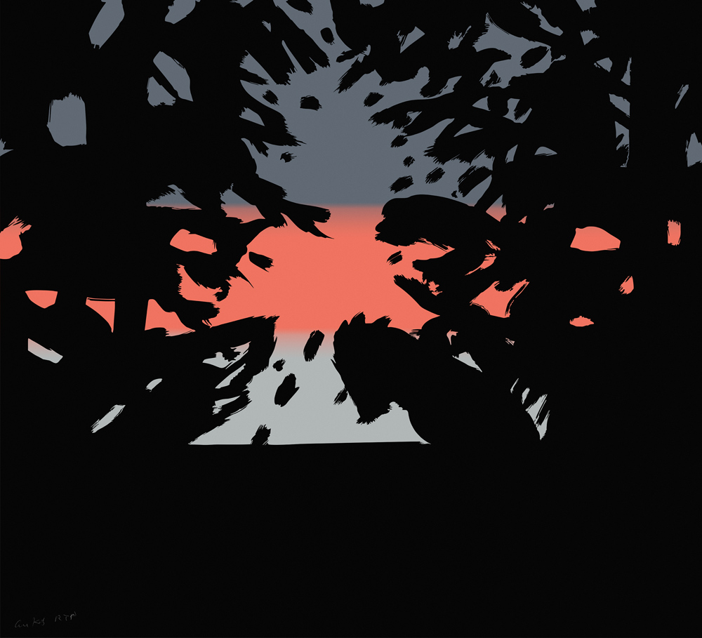 Sunset 2 by Alex Katz
