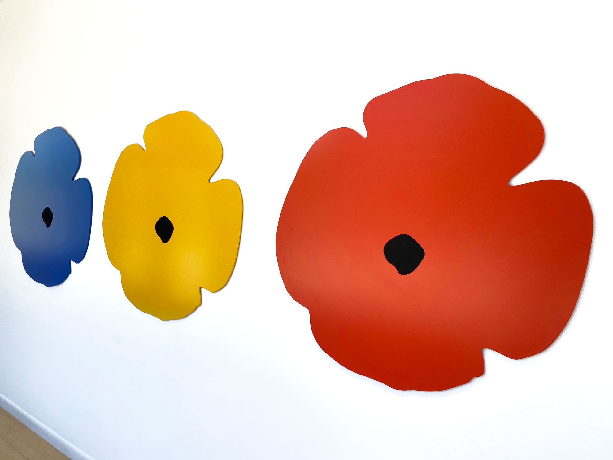 Donald-Sultan-Wall-Poppies
