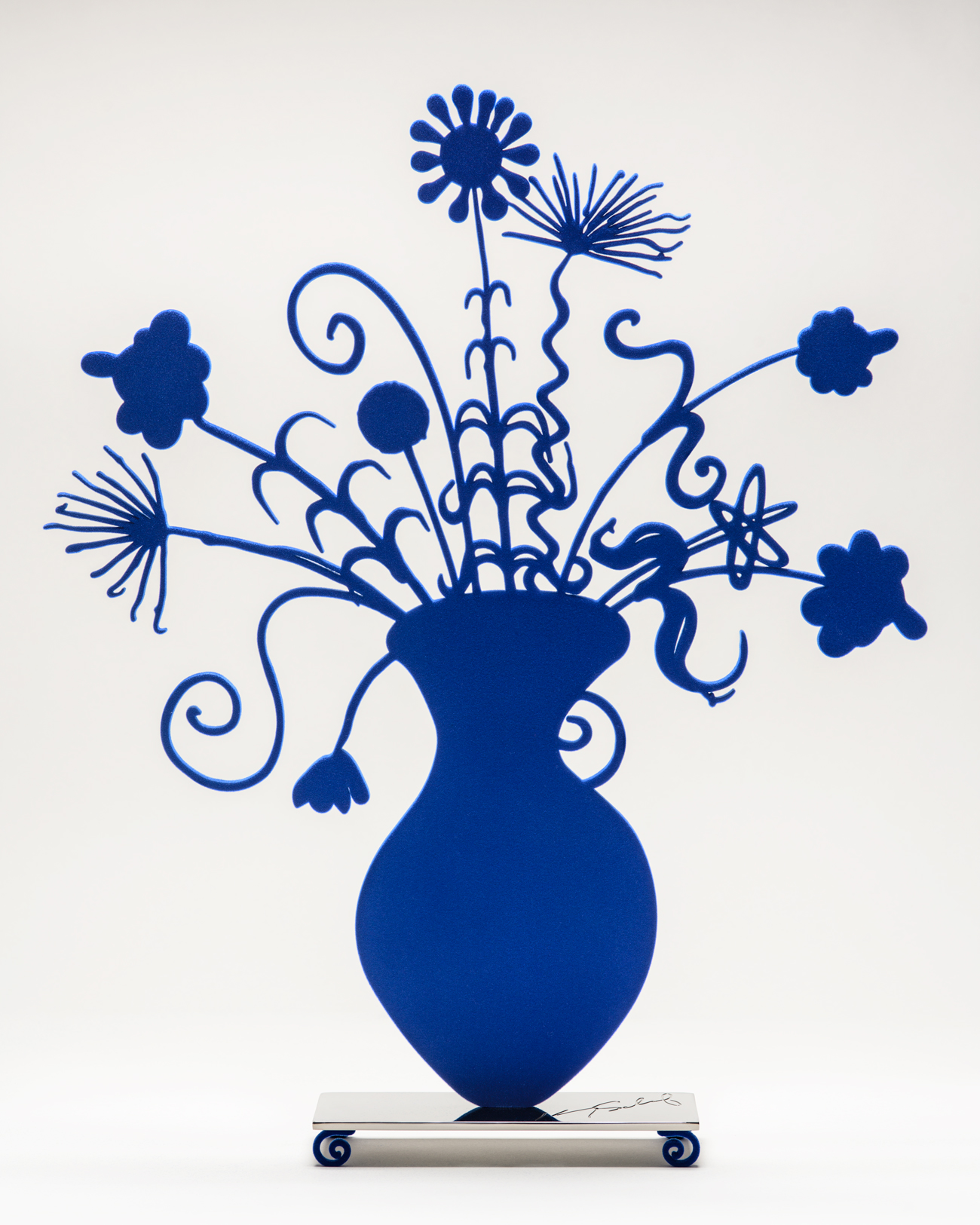 Flores Blue by Kenny Scharf